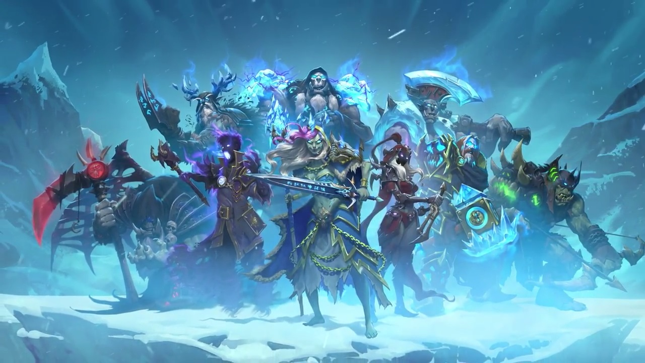 Hearthstone And Chill In The Games Knights Of The Frozen Throne