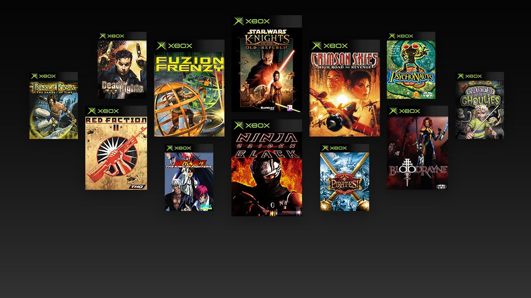 X Box Games For The Orginal : Xbox original games compatibility list leaks ahead of