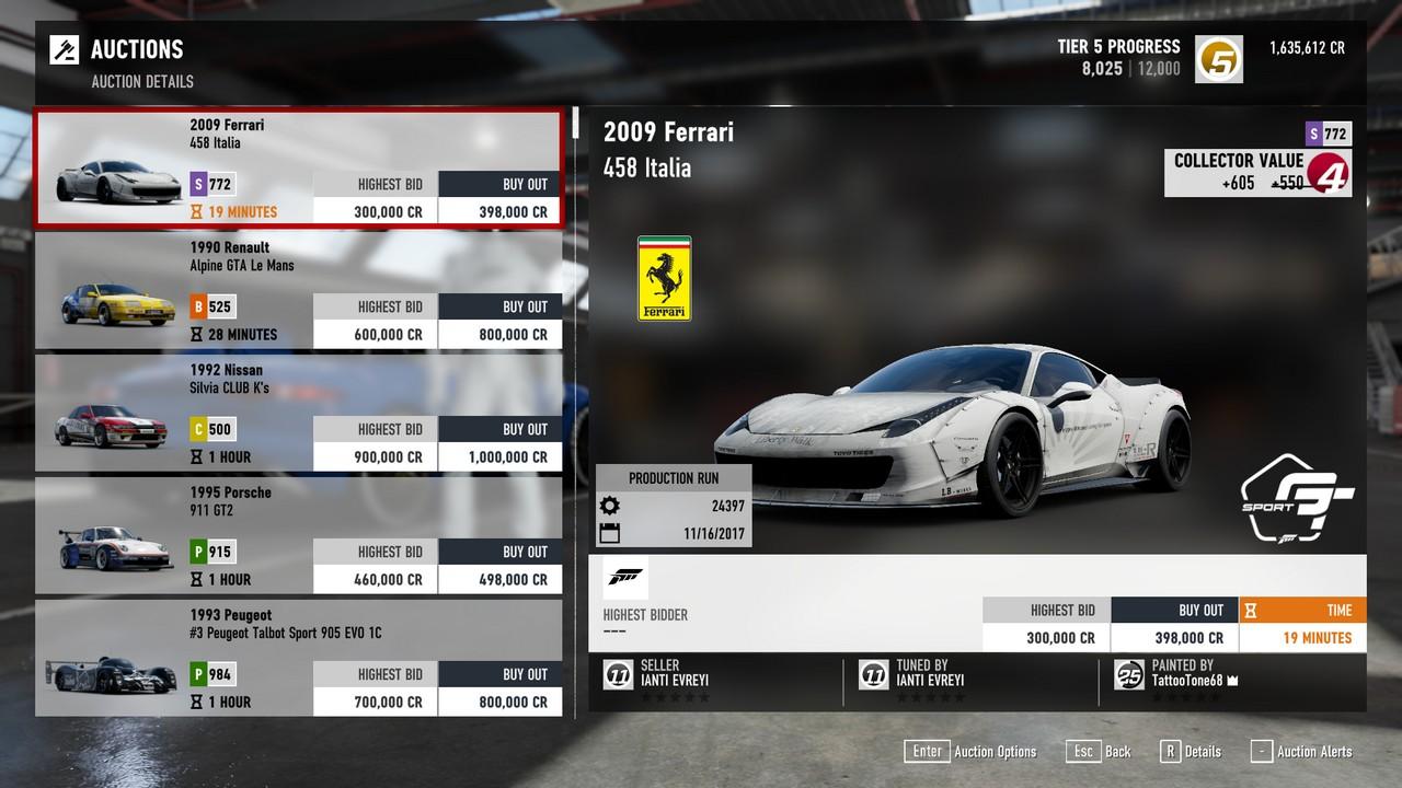forza motorsport 7 pc mods