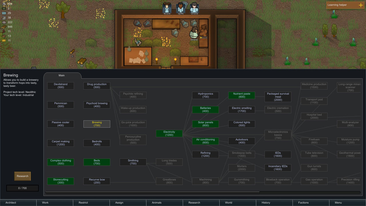 Transmissions from RimWorld, Part II: Junkie cats and psycho