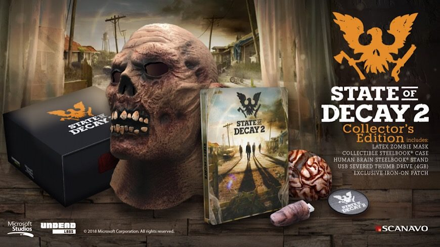 The State Of Decay 2 Collectors Edition Is A Treasure Trove Of