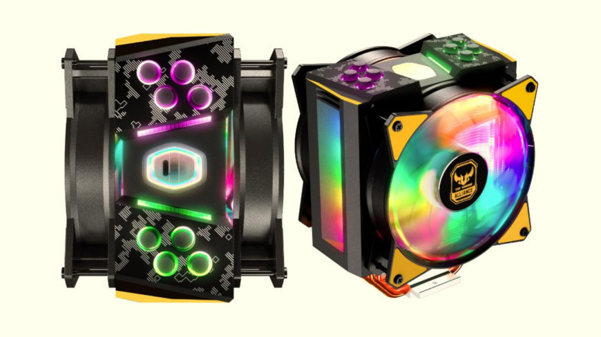 Cooler Master's MasterAir MA410M TUF isn't anything like a light