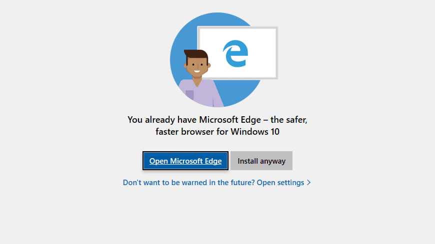 Edge in Windows 10 version 1809 is feeling very insecure