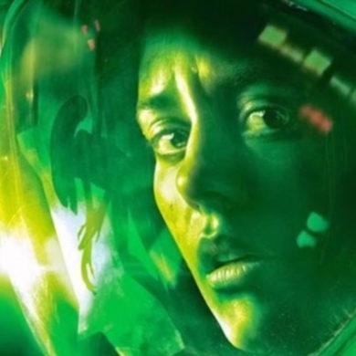 Amanda Ripley on the Sevastopol hiding from the xenomorph in Alien Isolation