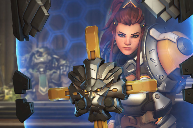 Overwatch support hero Brigitte shields herself from GOATS meta controversy