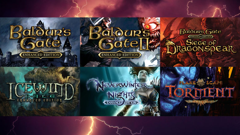 Enhanced console editions of classic PC RPGs available from September