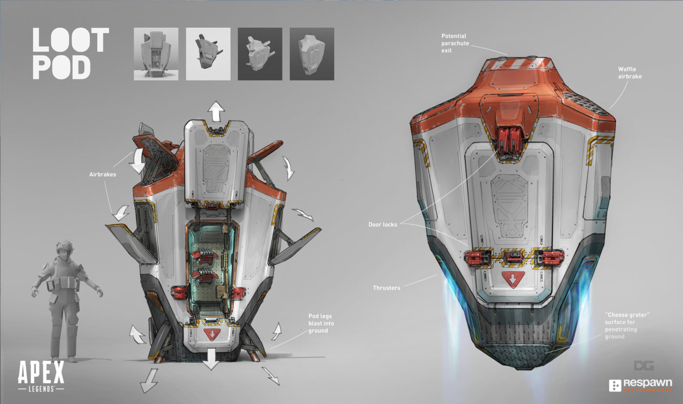 This Extraordinary Collection Of Apex Legends Concept Art