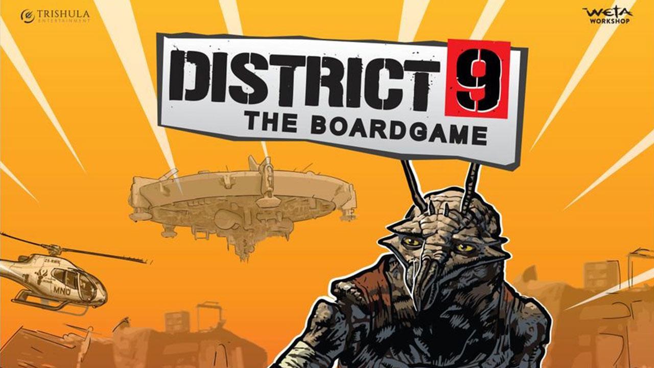 Back Weta Workshop's District 9 board game Kickstarter because everyone's a fookin prawn
