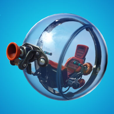 Fortnite baller hamster ball
