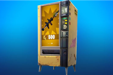 Fortnite vending machines contain a bug since latest patch
