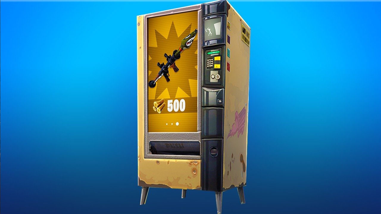 fortnite vending machines can be tricked into giving you free stuff no extra free stuff - fortnite synchronisation