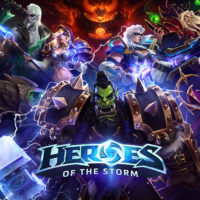 Blizzard's Heroes of the Storm MOBA features heroes from iconic franchises such as Warcraft, Diablo, Overwatch, and StarCraft.