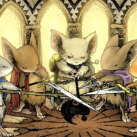 Mouse Guard, graphic novel series by David Petersen, is getting a film adaptation.