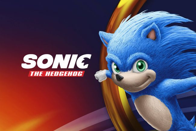 Leaked branding guide image for upcoming Sonic the Hedgehog film