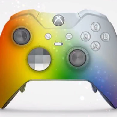 Rainbow Xbox One controller concept used to support LGBTQ community