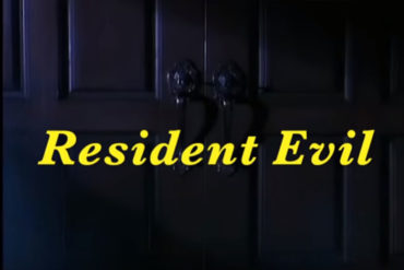 The original Resident Evil game opening sequence reimagined as an 80s sitcom