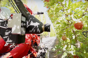 Abundant Robotics apple-harvesting robots are now commercially viable