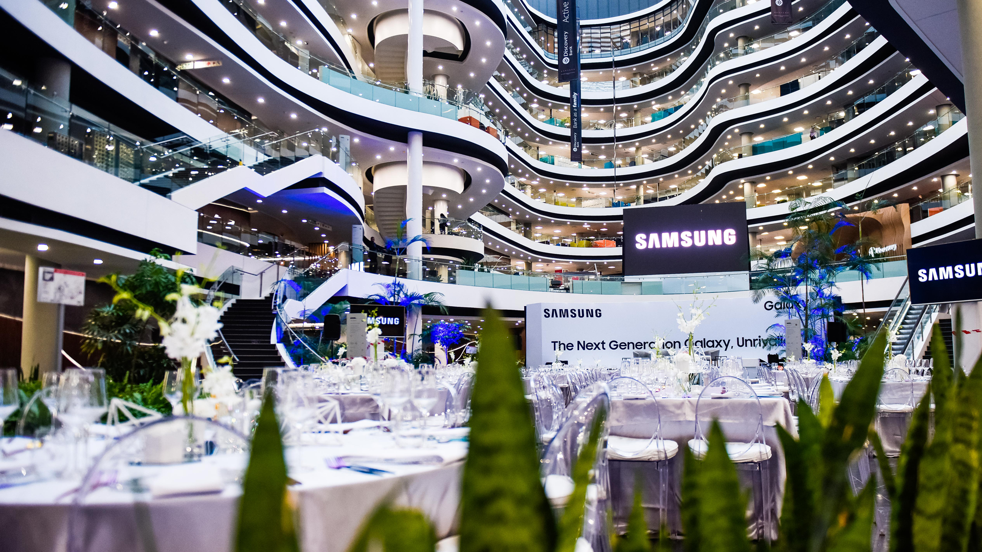 samsung galaxy s10 launch event sandton