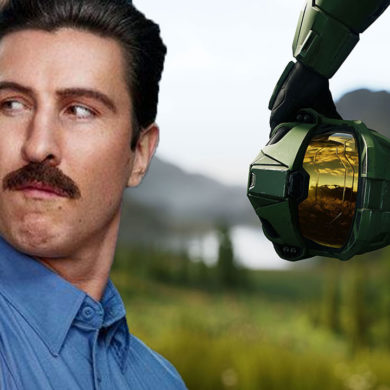 Pablo Shreiber is playing the Master Chief in new Halo TV series