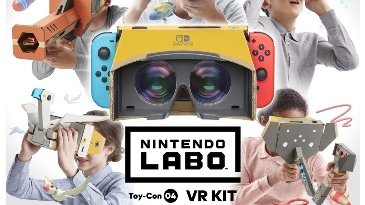 Nintendo Labo VR Kit will be compatible with Super Mario Odyssey and The Legend of Zelda: Breath of the Wild