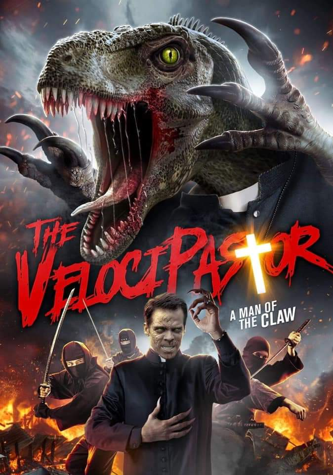 The VelociPastor is about a priest that can turn into a dinosaur to fight ninjas