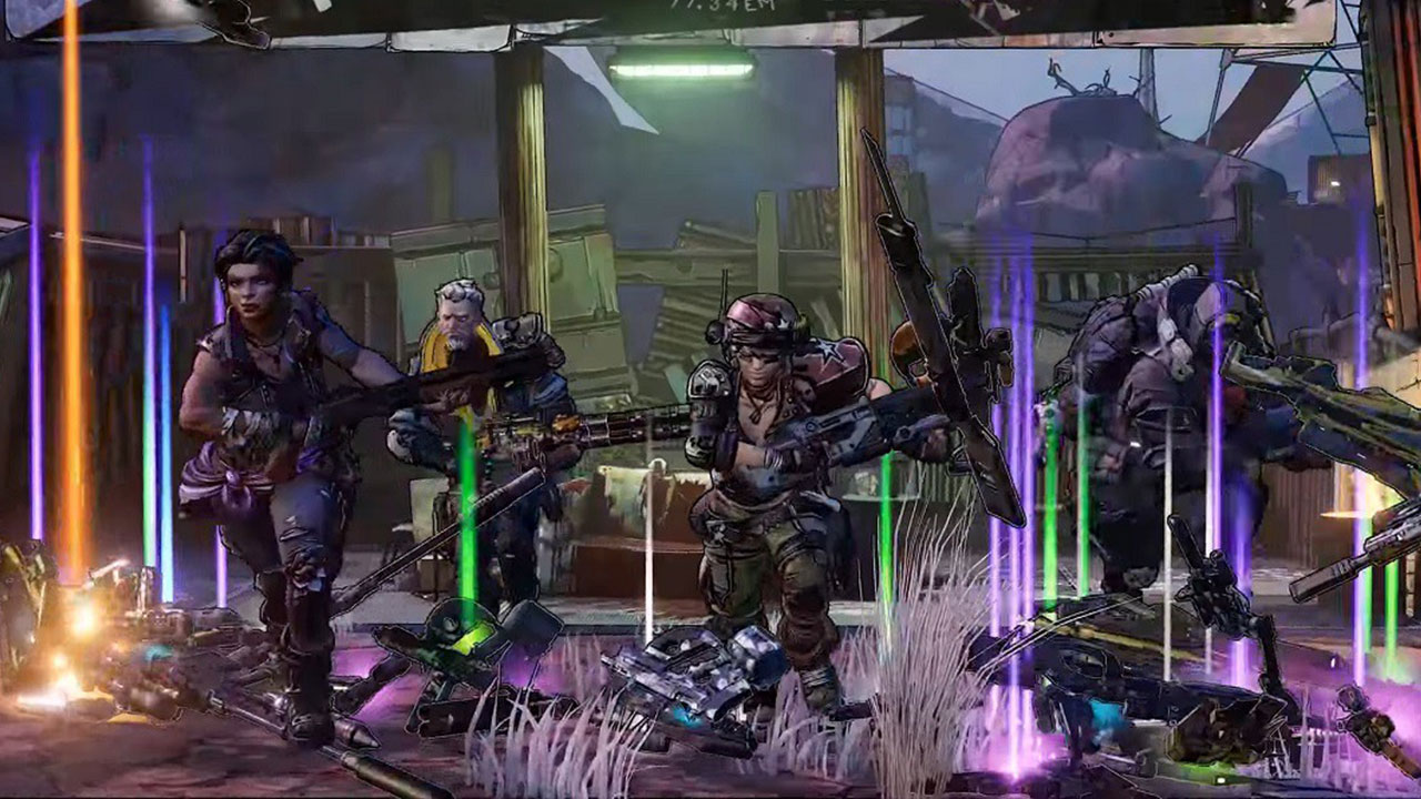 There will be billions of guns in Borderlands 3