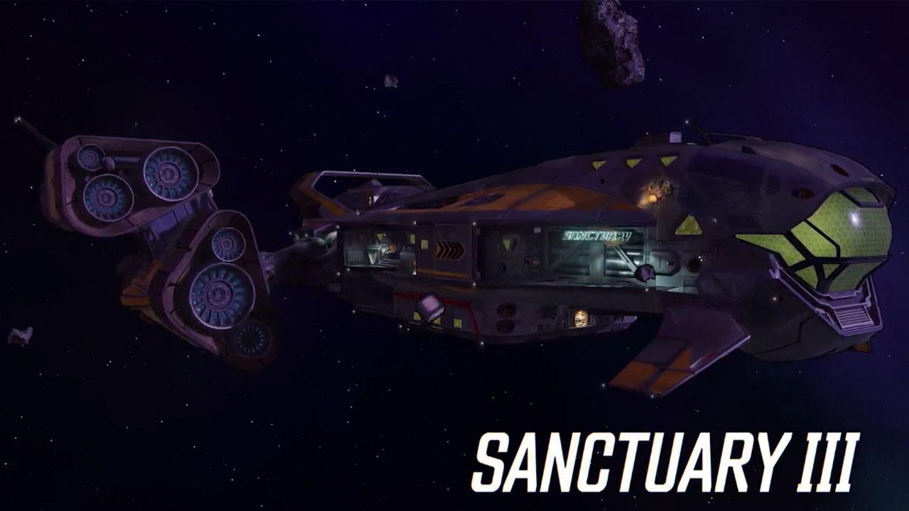 The Sanctuary 3 is your home in Borderlands 3