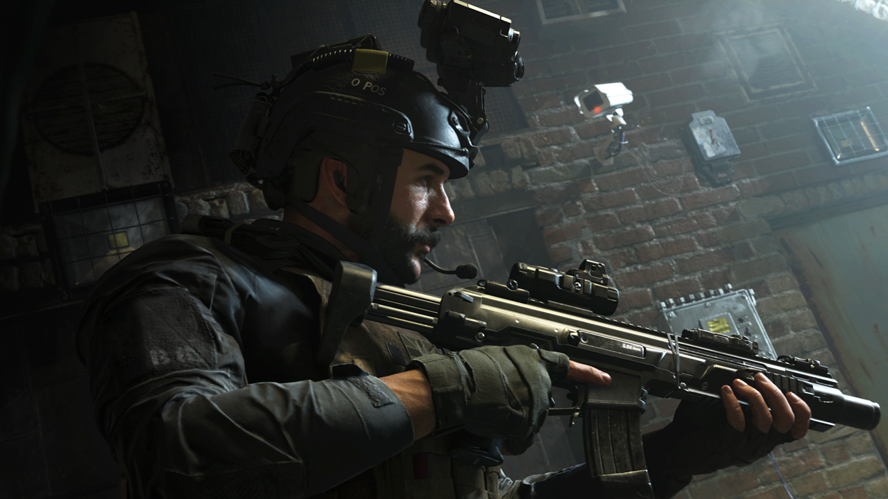 Call of Duty Modern Warfare screenshot Captain Price