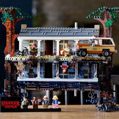 LEGO Stranger Things house