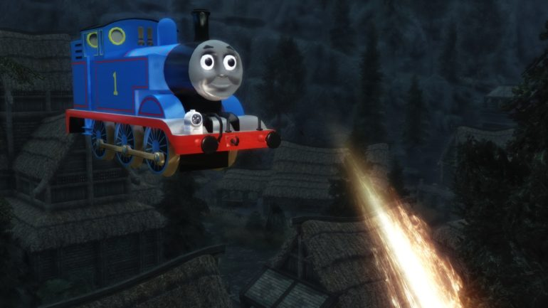 Thomas the Tank Engine mod