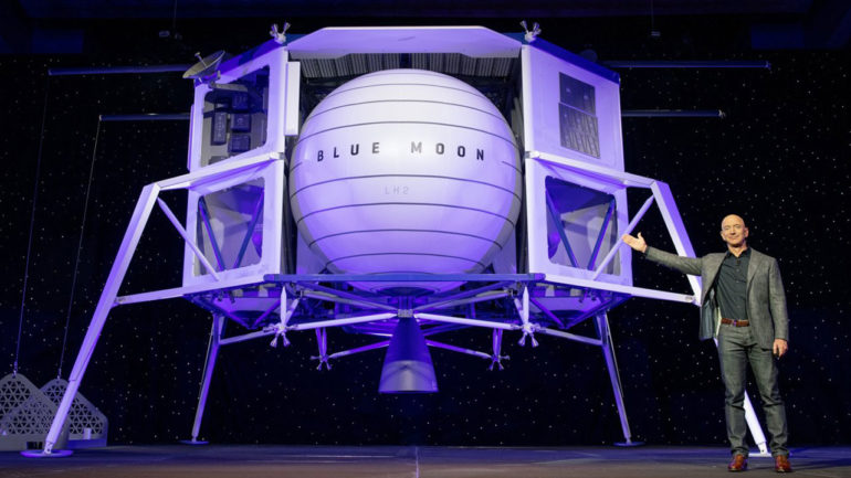 Blue Moon Lunar Lander