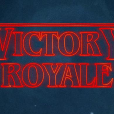 Fortnite Stranger Things Victory Royale