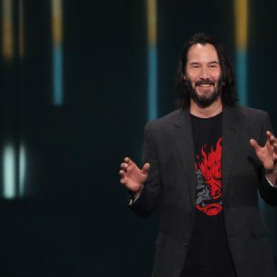 Keanu Reeves Cyberpunk 2077 E3 2019
