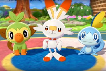 Pokemon Sword and Shield Starters