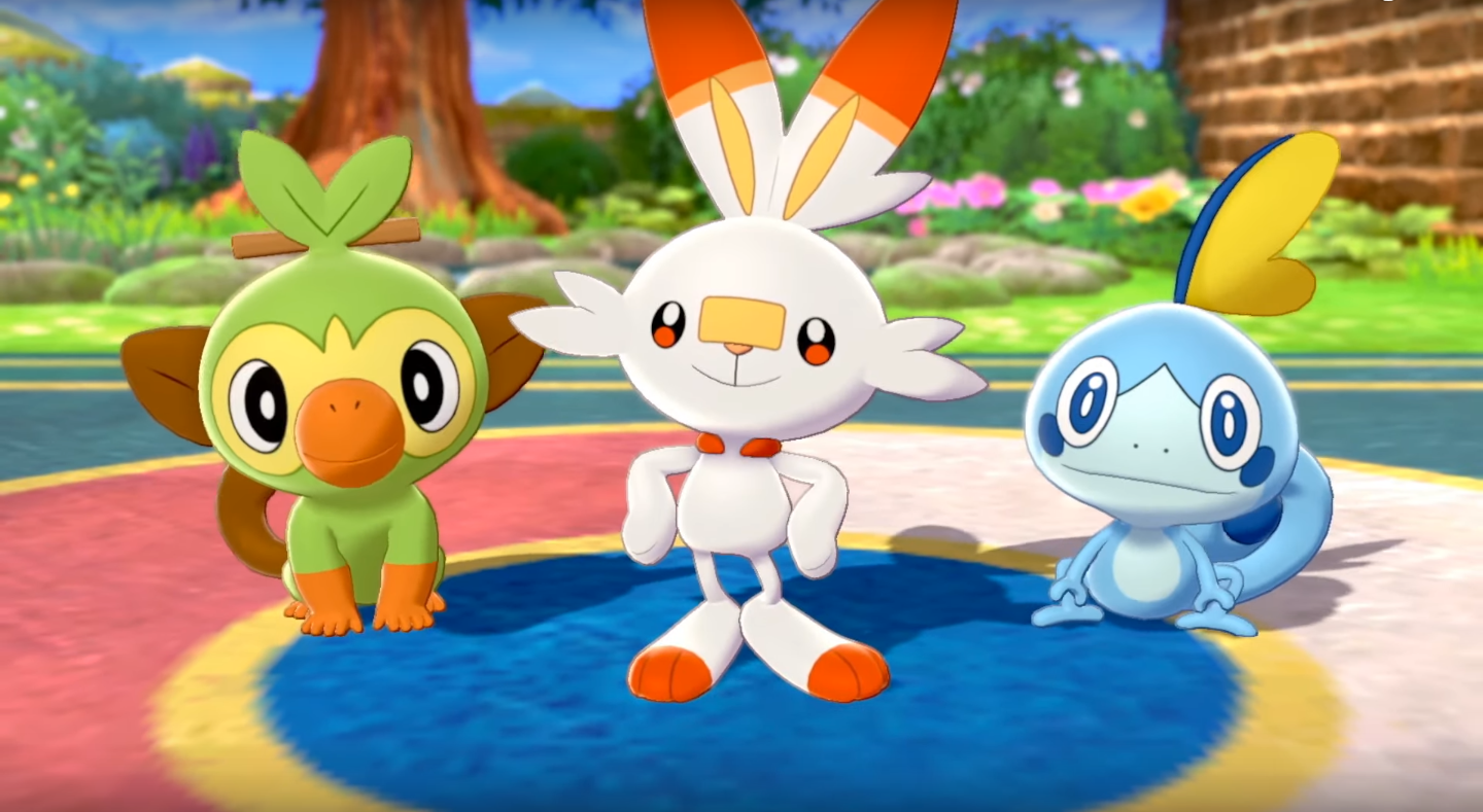 New Pokemon Sword And Shield Trailer Features Giant Pokemon And