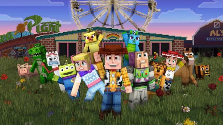 Toy Story Mash-Up Minecraft