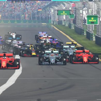 F1® 2019 Intro Capture