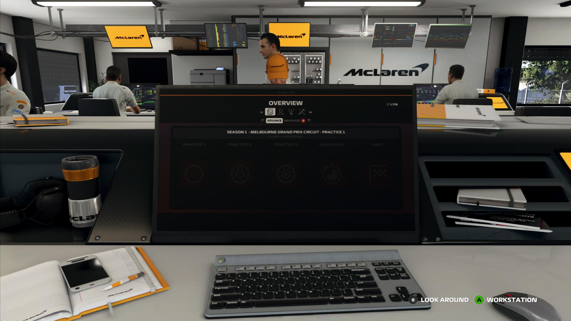 F1 2019 Workstation
