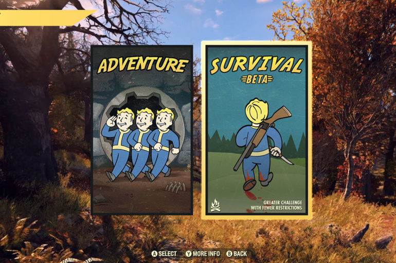 Fallout 76 Game Modes