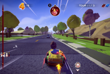 Garfield Furious Racing
