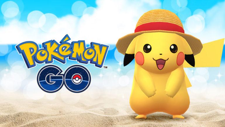 Pokemon GO Straw Hat Pikachu