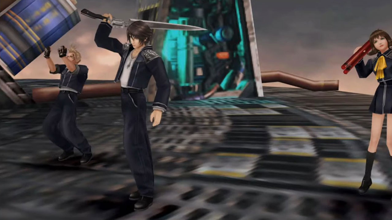 Final Fantasy VIII Remastered In Game