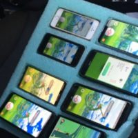 Pokemon GO on eight devices