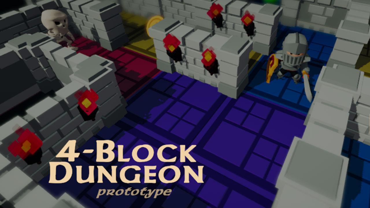 4-Block Dungeon Prototype