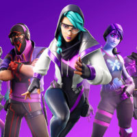Fortnite Purple