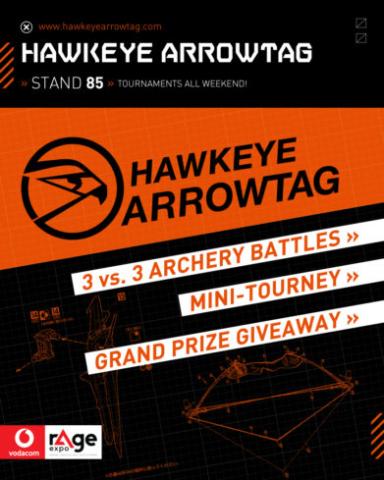 Vodacom rAge 2019 - Hawkeye Arrowtag