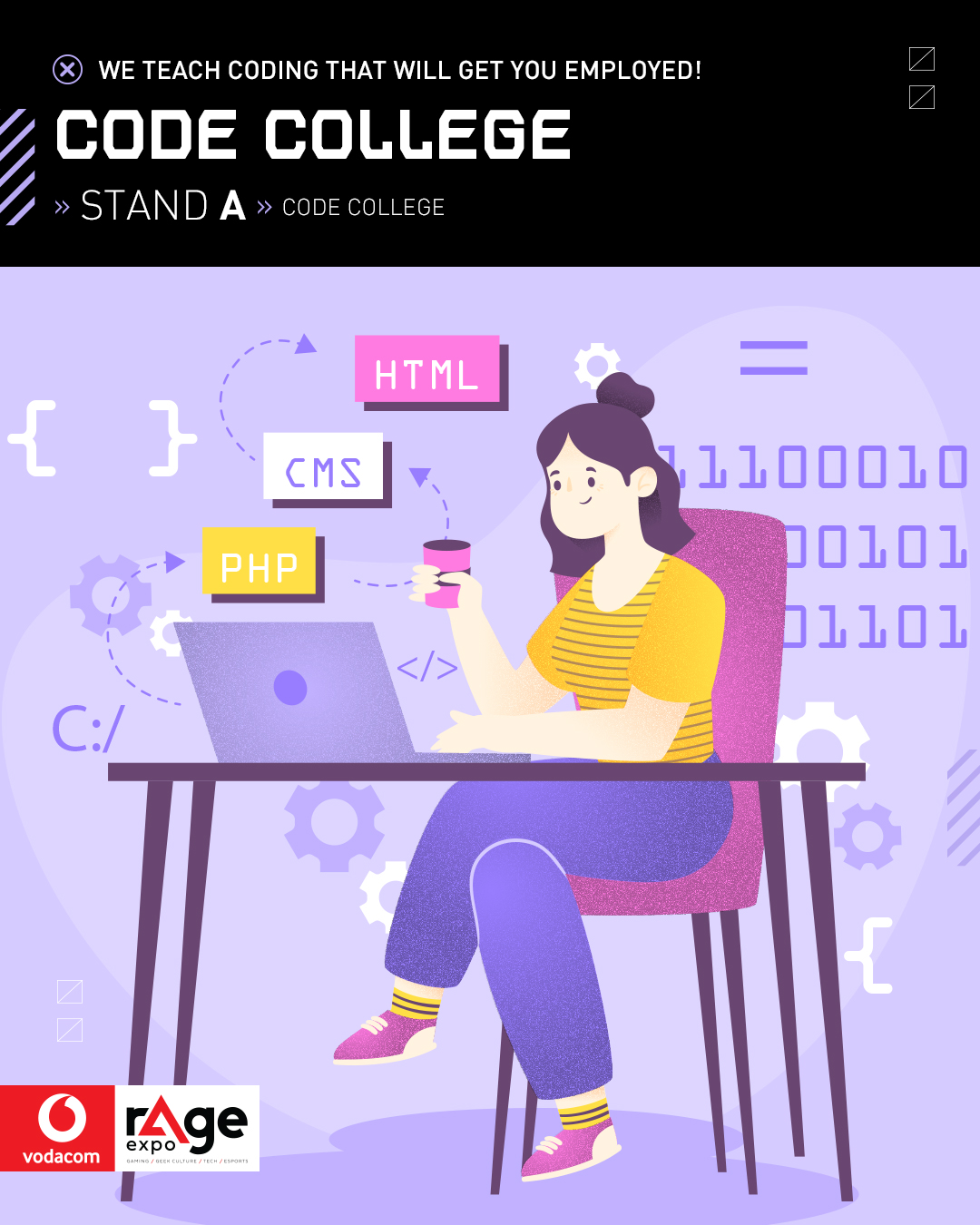 Vodacom rAge 2019 - Code College