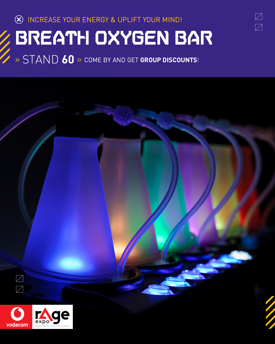 Vodacom rAge 2019 - Oxygen Bar