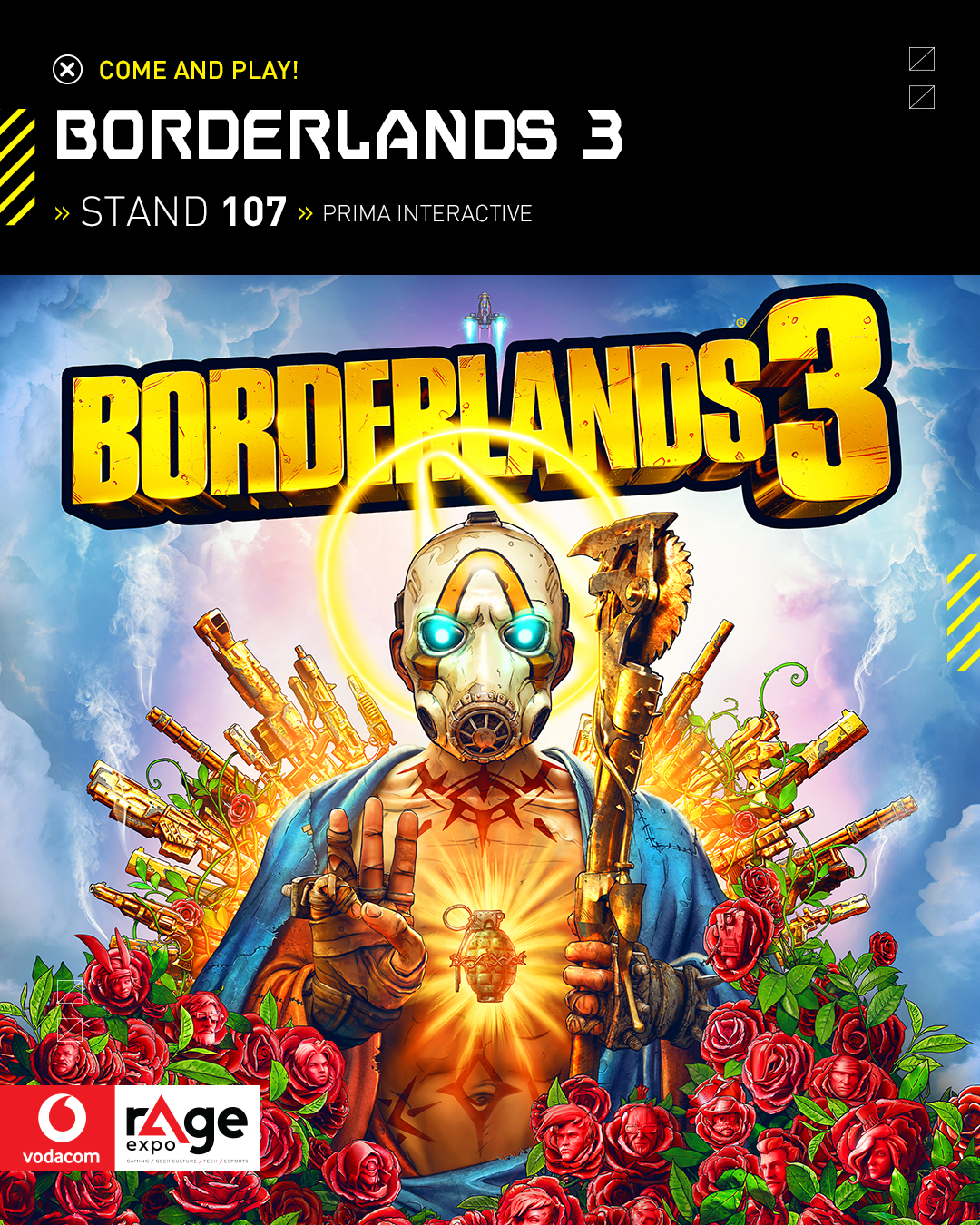 Vodacom rAge 2019 - Borderlands 3