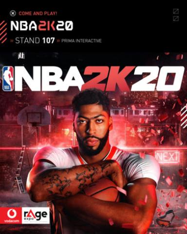 Vodacom rAge 2019 - NBA 2K